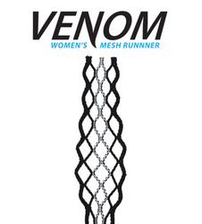 ECD Women Lacrosse Mesh Runner Black/White Striker