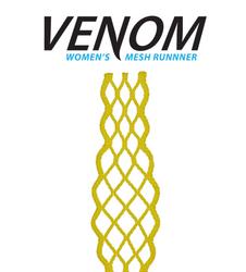 ECD Women Lacrosse Mesh Runner Yellow