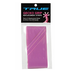 True Lacrosse GECKO GRIP Tape 3 pk - Pink