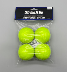 Signature Pro S1 MLL Lacrosse Ball 4 Pack - Hyper Yellow