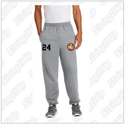 R.A.W. Lacrosse Port & Company Sweatpants