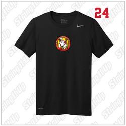 R.A.W. Lacrosse Nike Legend Dri-Fit Short Sleeve Tee