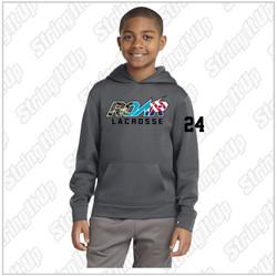 ROAR Variety Logo Sport-Tek® Sport-Wick® Fleece Hooded Pullover