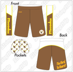 MooseLax Sublimated Shorts