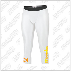 MooseLax Youth Calf Length Compression pant Boys