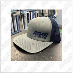 Roar Lacrosse  Headwear Snapback Trucker Hat - Navy