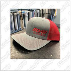 Roar Lacrosse  Headwear Snapback Trucker Hat - Red