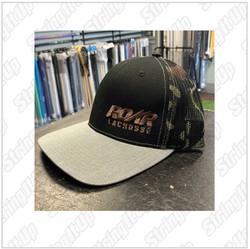 Roar Lacrosse  Headwear Snapback Trucker Hat - Camo