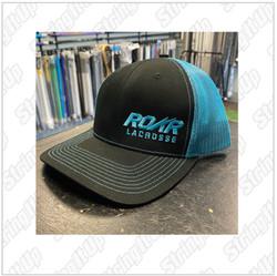 Roar Lacrosse  Headwear Snapback Trucker Hat - Teal