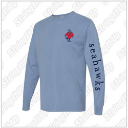 CSH Booster - ComfortWash by Hanes - Garment Dyed Long Sleeve T-Shirt