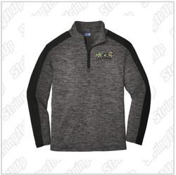 Roar 2026 Adult Sport-Tek ® PosiCharge ® Electric Heather Colorblock 1/4-Zip Pullover