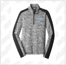 Roar 2027 Adult Sport-Tek ® PosiCharge ® Electric Heather Colorblock 1/4-Zip Pullover