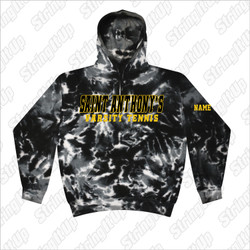 St. Anthony's Tennis - Tie-Dye Adult 8.5 oz. Tie-Dyed Pullover Hood
