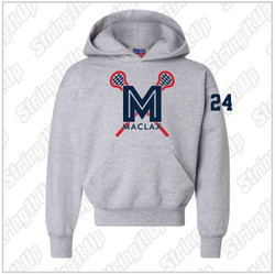 MacLax Youth Champion - Double Dry Eco Youth Hooded Sweatshirt
