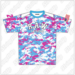 R.A.W. Lacrosse Girls Team Shooting Shirt