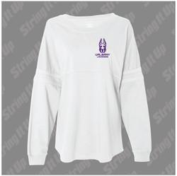 Albany Women's Boxercraft - Jersey Pom Pom Long Sleeve T-Shirt