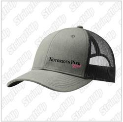 Notorious Pink Rosé Snapback Trucker Hat - Heather/Black