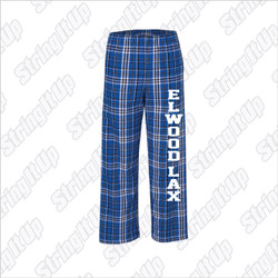 Elwood Lax Youth Boxercraft Flannel Pants with Pockets