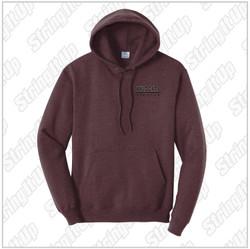 Wildcat Booster - Adult Port & Company ® Core Hooded Sweatshirt - Heather Maroon