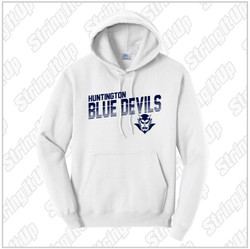 HHS Booster - Adult Port & Company ® Core Hooded Sweatshirt - White