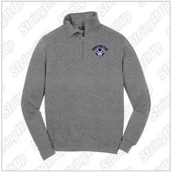 HHS Booster - Adult Sport-Tek® 1/4-Zip Sweatshirt - Heather Grey