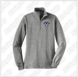 HHS Booster - Ladies Sport-Tek® 1/4-Zip Sweatshirt - Heather Grey