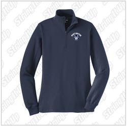 HHS Booster - Ladies Sport-Tek® 1/4-Zip Sweatshirt - Navy