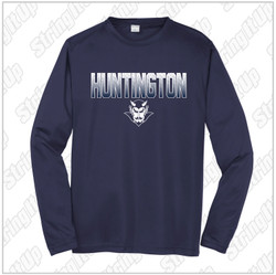 HHS Booster - YOUTH Sport-Tek® PosiCharge® Competitor™ Long Sleeve - Navy