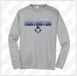 HHS Booster - Youth Sport-Tek® PosiCharge® Competitor™ Long Sleeve - Silver