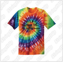 Dancin' Feet - Youth Port & Company® Youth Tie-Dye Tee