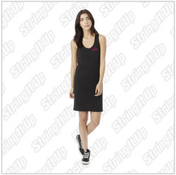 Dancin' Feet - Ladies Alternative - Effortless Cotton Modal Tank Dress