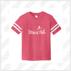 Dancin' Feet -Toddler Rabbit Skins ™ Football Fine Jersey Tee
