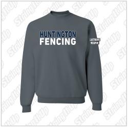 Huntington Fencing JERZEES® - NuBlend® Crewneck Sweatshirt