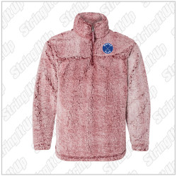 Winter Club Girls Hockey Adult Unisex Boxercraft Sherpa Fleece Quarter-Zip Pullover
