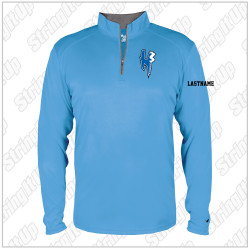 H3 Fencing Youth Badger Sport B-Core 1/4 Zip Pullover - Carolina