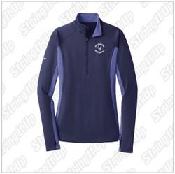 HHS Booster - Sport-Tek® Ladies Sport-Wick® Stretch Contrast 1/2-Zip Pullover