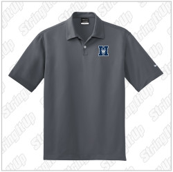 HHS Booster - Nike Dri-FIT Pebble Texture Polo - Grey