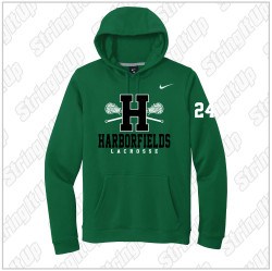 Harborfields Lacrosse - Nike Club Fleece Pullover Hoodie