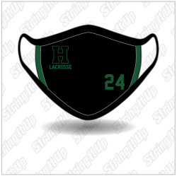 Harborfields Lacrosse - Ear Loop Face Mask