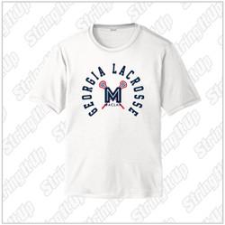 MacLax Adult Sport-Tek® PosiCharge® Competitor™ Short Sleeve Tee - White