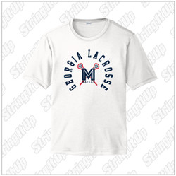 MacLax Youth Sport-Tek® PosiCharge® Competitor™ Short Sleeve Tee - White