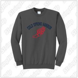 CSH Track & Field Port & Company® Core Fleece Crewneck Sweatshirt - Charcoal