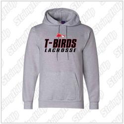 Connetquot Lacrosse Adult Champion - Eco Hooded Sweatshirt