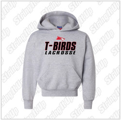Connetquot Lacrosse Youth Champion - Double Dry Eco Youth Hooded Sweatshirt