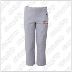 Connetquot Lacrosse Youth Champion - Double Dry Eco® Youth Open Bottom Sweatpants with Pockets