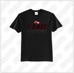 Connetquot Lacrosse Adult Port & Company ® Fan Favorite ™ Tee Black