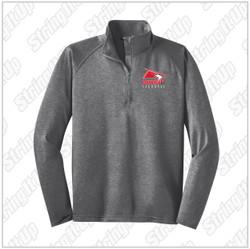 Connetquot Lacrosse Adult Sport-Tek® Sport-Wick® Stretch 1/2-Zip Pullover