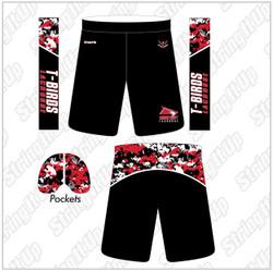 Connetquot Men's Cut Sublimated Lacrosse Shorts