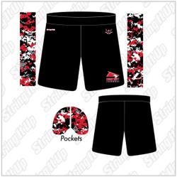 Connetquot Lacrosse Girls Sublimated Shorts