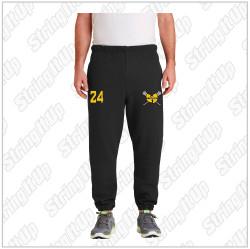 36 Chambers Lacrosse Adult Black Sweatpants